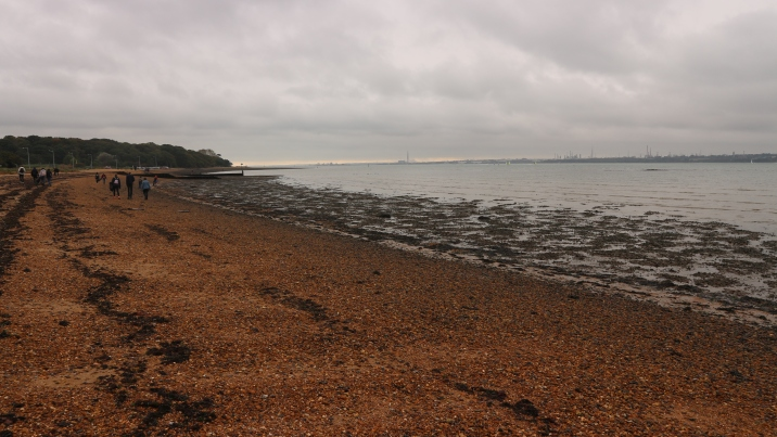 Weston Shore beach