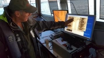 Side scan sonar image