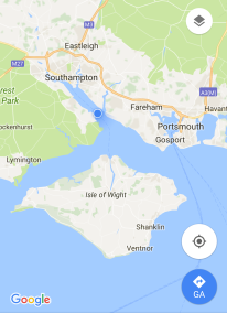 From Southampton to Sandown, via Cowes and Newport